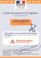 carte de soins hémophilie